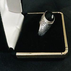 Black Onyx 925 Silver